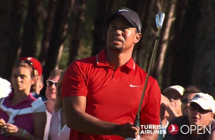 Tiger Woods Antalya