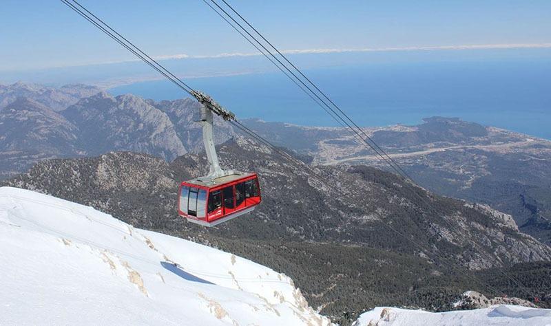 Image result for التلفريك في تركيا